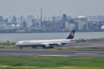 うめたろうさんが、羽田空港で撮影したルフトハンザドイツ航空 A340-642Xの航空フォト(写真)