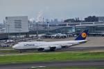 うめたろうさんが、羽田空港で撮影したルフトハンザドイツ航空 747-830の航空フォト(写真)