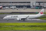 mameshibaさんが、羽田空港で撮影したジェイ・エア ERJ-190-100(ERJ-190STD)の航空フォト(写真)