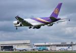 mojioさんが、成田国際空港で撮影したタイ国際航空 A380-841の航空フォト(飛行機 写真・画像)