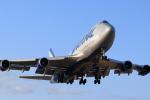 Shincha747さんが、横田基地で撮影したナショナル・エア・カーゴ 747-428(BCF)の航空フォト(写真)