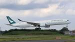 raichanさんが、成田国際空港で撮影したキャセイパシフィック航空 A350-1041の航空フォト(写真)