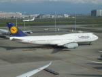 エルさんが、羽田空港で撮影したルフトハンザドイツ航空 747-830の航空フォト(写真)