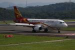 endress voyageさんが、岡山空港で撮影した香港航空 A320-214の航空フォト(写真)