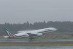 ぷぅぷぅまるさんが、成田国際空港で撮影したアリタリア航空 777-243/ERの航空フォト(写真)
