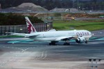 yoshibouさんが、成田国際空港で撮影したカタール航空 777-3DZ/ERの航空フォト(写真)