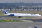 Hariboさんが、アムステルダム・スキポール国際空港で撮影したフィンエアー MD-82 (DC-9-82)の航空フォト(写真)