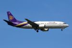 hiroki_h2さんが、スワンナプーム国際空港で撮影したタイ国際航空 737-4D7の航空フォト(写真)