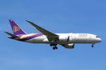 hiroki_h2さんが、スワンナプーム国際空港で撮影したタイ国際航空 787-8 Dreamlinerの航空フォト(写真)