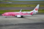 amagoさんが、中部国際空港で撮影した日本トランスオーシャン航空 737-8Q3の航空フォト(写真)