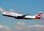 Bokuranさんが、ロンドン・ヒースロー空港で撮影したブリティッシュ・エアウェイズ 747-436の航空フォト(写真)
