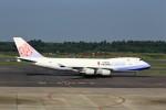 T.Sazenさんが、成田国際空港で撮影したチャイナエアライン 747-409F/SCDの航空フォト(写真)