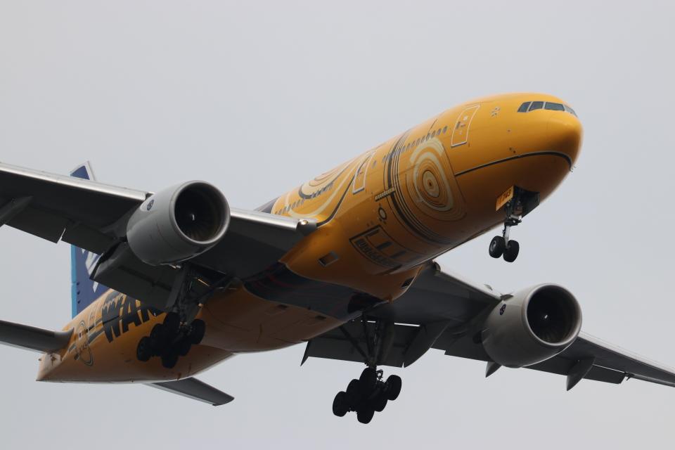 imosaさんの全日空 Boeing 777-200 (JA743A) 航空フォト