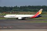 T.Sazenさんが、成田国際空港で撮影したアシアナ航空 767-38EF/ERの航空フォト(飛行機 写真・画像)