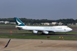 T.Sazenさんが、成田国際空港で撮影したキャセイパシフィック航空 747-467F/ER/SCDの航空フォト(飛行機 写真・画像)