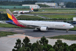 mojioさんが、成田国際空港で撮影したアシアナ航空 777-28E/ERの航空フォト(飛行機 写真・画像)