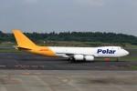 T.Sazenさんが、成田国際空港で撮影したアトラス航空 747-87UF/SCDの航空フォト(飛行機 写真・画像)