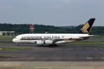 T.Sazenさんが、成田国際空港で撮影したシンガポール航空 A380-841の航空フォト(飛行機 写真・画像)