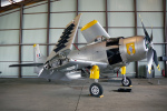 ちゃぽんさんが、ル・ブールジェ空港で撮影したフランス海軍 A-1D Skyraiderの航空フォト(飛行機 写真・画像)