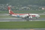 pringlesさんが、福岡空港で撮影したティーウェイ航空 737-83Nの航空フォト(写真)