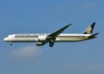 じーく。さんが、福岡空港で撮影したシンガポール航空 787-10の航空フォト(写真)
