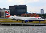 Bokuranさんが、ロンドン・シティ空港で撮影したBAシティフライヤー ERJ-190-100 LR (ERJ-190LR)の航空フォト(写真)
