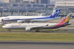 Orange linerさんが、羽田空港で撮影したアシアナ航空 A330-323Xの航空フォト(写真)