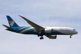 hiroki_h2さんが、スワンナプーム国際空港で撮影したオマーン航空 787-8 Dreamlinerの航空フォト(飛行機 写真・画像)
