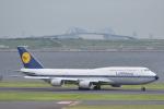 東空さんが、羽田空港で撮影したルフトハンザドイツ航空 747-830の航空フォト(写真)