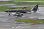 mich_stoneさんが、羽田空港で撮影したスターフライヤー A320-214の航空フォト(写真)