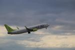 kwnbさんが、中部国際空港で撮影したソラシド エア 737-86Nの航空フォト(写真)