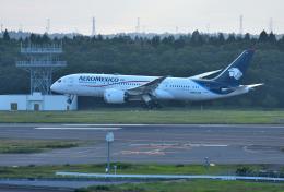 mojioさんが、成田国際空港で撮影したアエロメヒコ航空 787-8 Dreamlinerの航空フォト(写真)