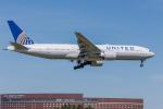 Y-Kenzoさんが、成田国際空港で撮影したユナイテッド航空 777-224/ERの航空フォト(写真)