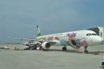 B747‐400さんが、那覇空港で撮影したエバー航空 A321-211の航空フォト(写真)