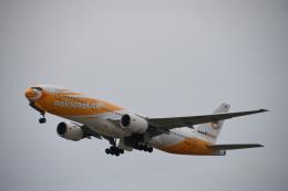 SKY☆MOTOさんが、関西国際空港で撮影したノックスクート 777-212/ERの航空フォト(飛行機 写真・画像)