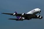採れたてほしいもさんが、ロンドン・ヒースロー空港で撮影したタイ国際航空 A380-841の航空フォト(写真)