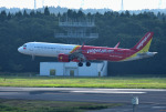 mojioさんが、成田国際空港で撮影したベトジェットエア A321-271Nの航空フォト(飛行機 写真・画像)