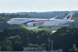 mojioさんが、成田国際空港で撮影したマレーシア航空 A350-941XWBの航空フォト(写真)