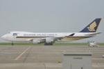 MOR1(新アカウント)さんが、北九州空港で撮影したシンガポール航空カーゴ 747-412F/SCDの航空フォト(写真)
