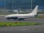 チャレンジャーさんが、羽田空港で撮影したアメリカ企業所有 737-7JR BBJの航空フォト(写真)