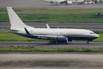 kuraykiさんが、羽田空港で撮影したアメリカ企業所有 737-7JR BBJの航空フォト(写真)