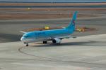 髪刈虫(かみきりむし)さんが、中部国際空港で撮影した大韓航空 737-9B5の航空フォト(写真)