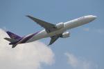 OMAさんが、香港国際空港で撮影したタイ国際航空 777-3AL/ERの航空フォト(写真)