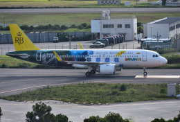 mojioさんが、成田国際空港で撮影したロイヤルブルネイ航空 A320-251Nの航空フォト(写真)