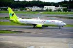 まいけるさんが、成田国際空港で撮影したジンエアー 737-8SHの航空フォト(写真)
