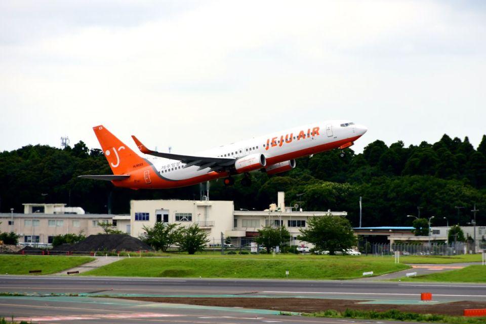 まいけるさんのチェジュ航空 Boeing 737-800 (HL8033) 航空フォト