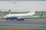 Re4/4さんが、羽田空港で撮影したアメリカ企業所有 737-7JR BBJの航空フォト(写真)