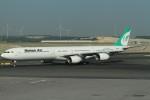 BTYUTAさんが、イスタンブール空港で撮影したマーハーン航空 A340-642の航空フォト(写真)
