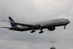 つっさんさんが、成田国際空港で撮影したアエロフロート・ロシア航空 777-3M0/ERの航空フォト(写真)