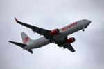 MOHICANさんが、福岡空港で撮影したタイ・ライオン・エア 737-8GPの航空フォト(写真)